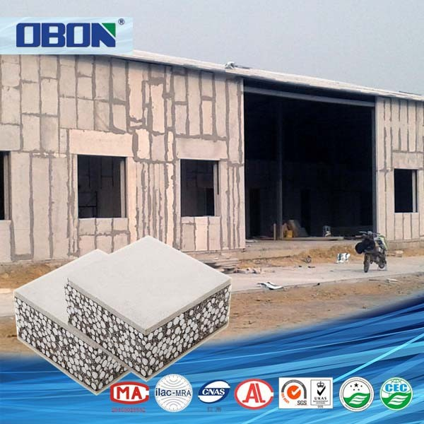 OBON Heat Insulation Exterior White Faux Brick Wall Panels