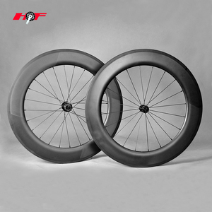 China factory 700c carbon fiber bicycle wheels Road bicycle wheels Tubular/clincher carbon bicycle wheelset 86mm carbon road