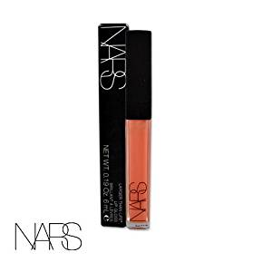 NARS LARGER THAN LIFE LIP GLOSS In ODALISQUE 1321 (beige peach) FULL SIZE 0.19 oz. / 6 ml IN RETAIL BOX