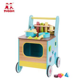 2018 Neue Multifunktions Küche Set Spielzeug Kinder Holz Baby ...