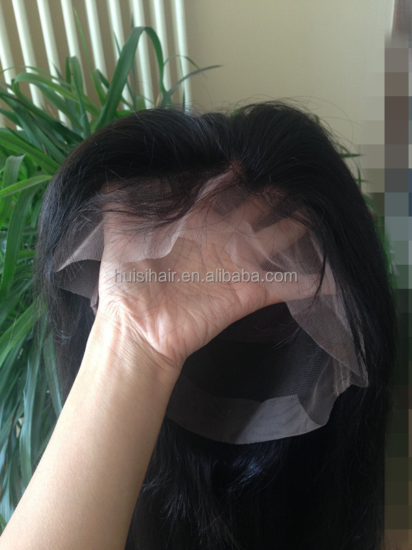 Hot selling wholesale Malaysian full lace wig good feedback shedding free material European remy hair
