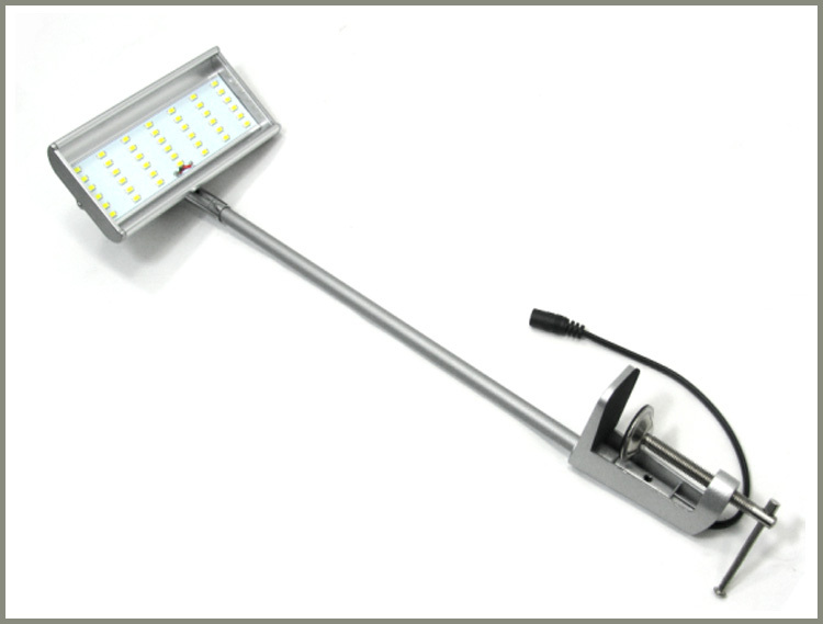 Led Light With Streight Rod And Clamp Sl-025-08-42l