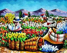 Oil Paintings On Canvas Peruvian Art