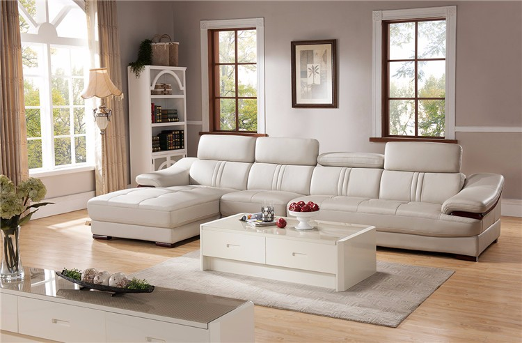 country style living room sofa sets/leather country style living room sofa sets C888-83