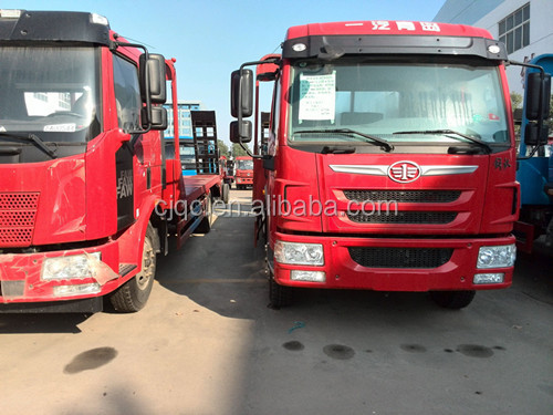 Chinese hot brand FAW truck crane for sale in South Africa, Dubai