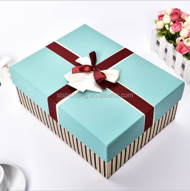 2017 New Products Luxury Paper Wedding Gift Box Packaging With ...