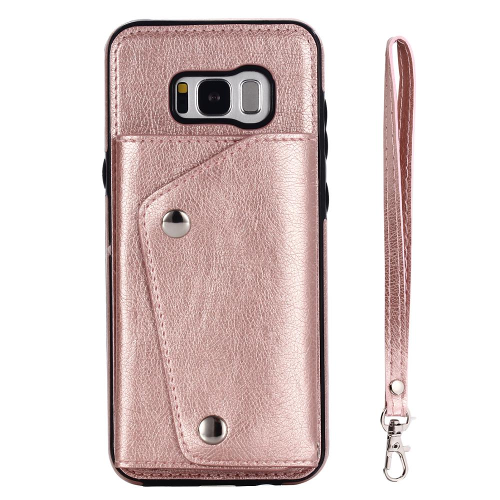 Unique design <strong>wallet</strong> flip best <strong>buy</strong> perfect fit PU leather phone case for Samsung galaxy S8 plus