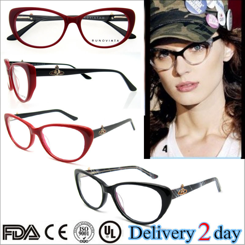 cat eye glasses women designer glasses clear frame multi colored eyeglass frames