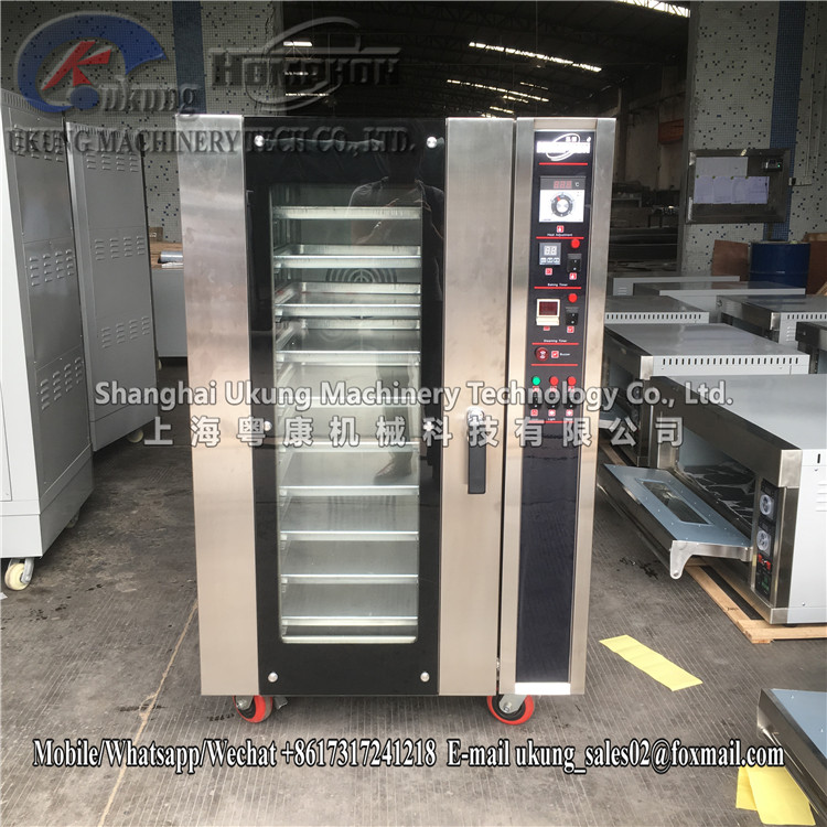 Automatic Stainless Steel 10 trays Convection Oven Gas Rotating Rack Oven