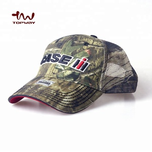 a8df772ff Custom Camo 5 Panel Unstructured Printed Mesh Back Trucker Cap With 3D  Embroidery Logo For Outdoor War Game
