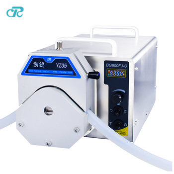 12 liters per min cosmetic transfer packing Dispensing industrial Peristaltic filling Pumps with 82# silicon tube