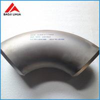 welding/seamless titanium 30 45 90 degree elbow