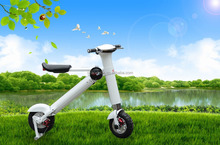 New adult sports motorcycle 36V 500w with aluminium Lithium battery 3 hours charging folding electric scooter city wheel