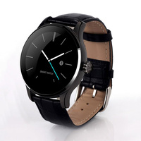 men smart watch 2016 luxury android ios wrist watch genuine leather