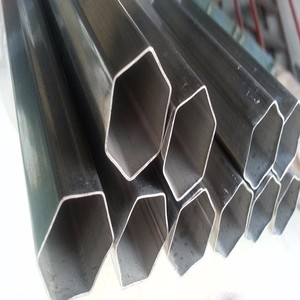 special shaped steel tubes/pipes hexagonal shape steel tube