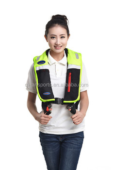 harness inflatable puffy life vest adults life jacket
