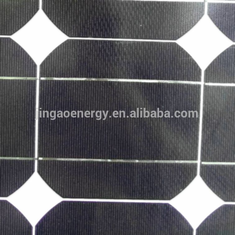 Hot selling product high quality and best price Monocrystalline silicon material 120w 18v chinese poly solar panel