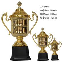 high quality gold plated sports cup Manufacturers Selling custom made golf trophy ,trophies and medals china
