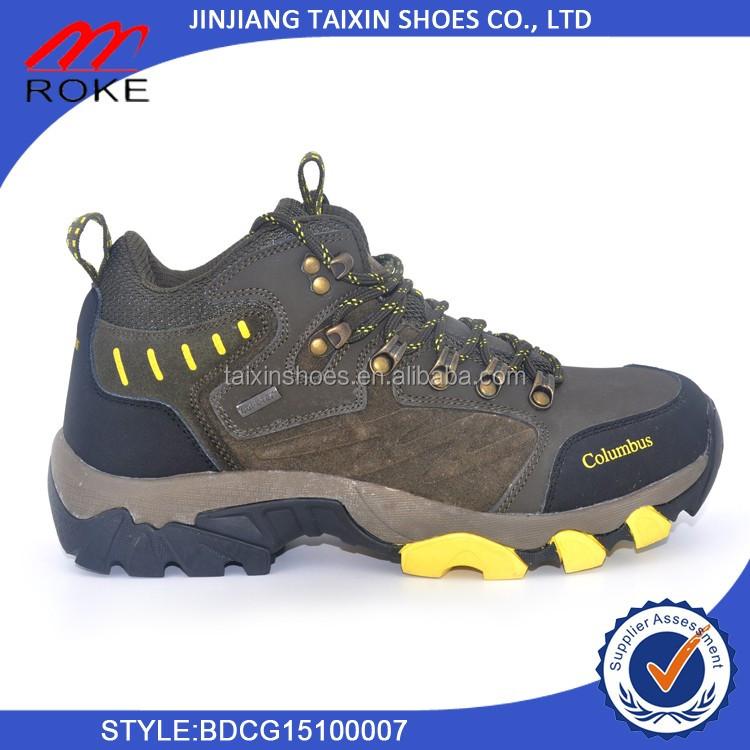 2017 Men Hiking Shoes Waterproof Outdoor Mountain Climbing Shoes Comfortable walking shoes