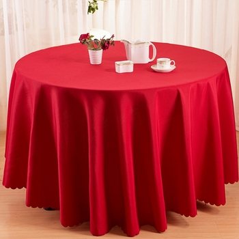 Hotel Supply Polyester German 132 Round Table Cloth For Sale Buy