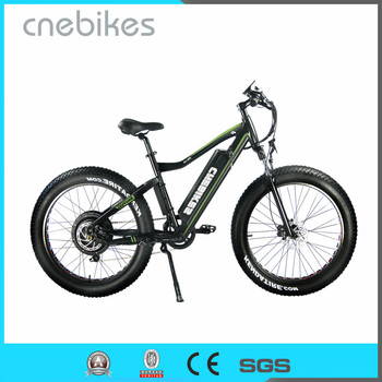 CNEBIKES hottest 26inch fat tire beach cruiser cheap electric mountain bike for sale