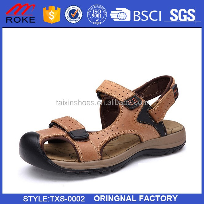 Summer sandals fashion men breathable sandals beach shoes casual falt slippers