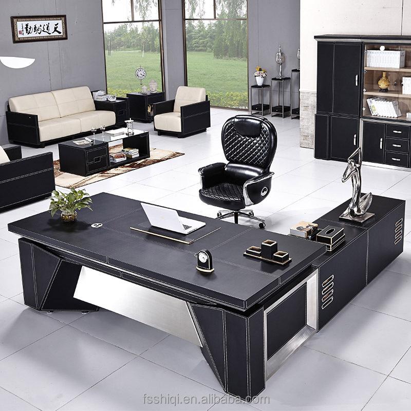 Kantoormeubilair gouden leverancier, grote korting kantoor tafel te koop houten tafels product