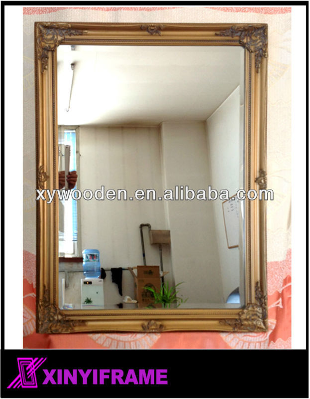 Bevel Glass Or Flat Glass Mirror Frames Stick On The Wall - Buy ...