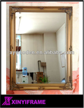 Bevel Glass Or Flat Glass Mirror Frames Stick On The Wall Buy