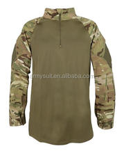 men's military style MTP Under Body Armour UBACS Shirt