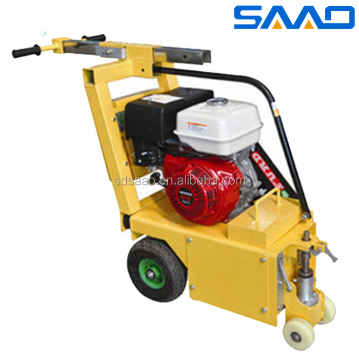 5mm Milling depth Asphalt Road Milling Machine with Honda gasoline engine (SYCB-250)