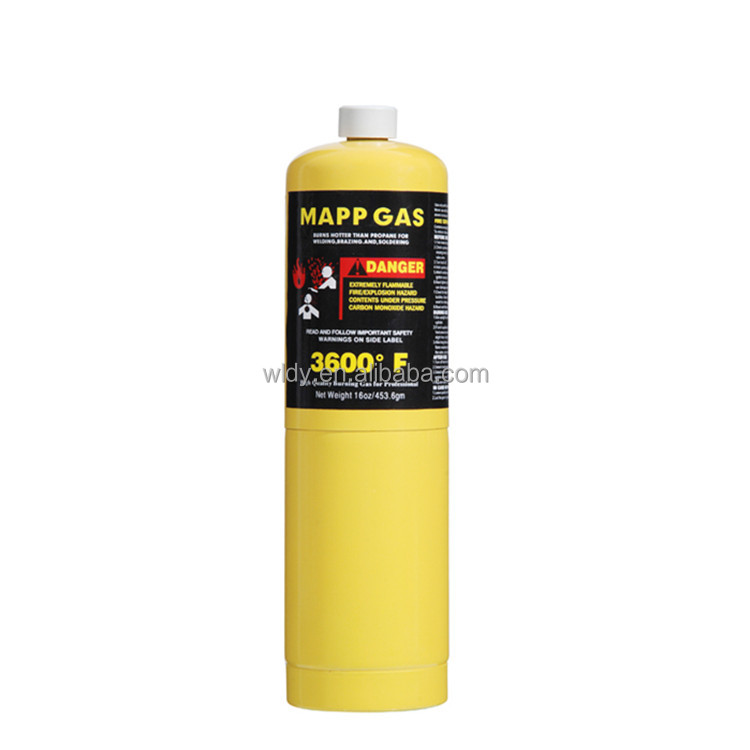 Air conditioning, refrigerator welding copper tube Mapp Welding torch gas Mapp gas yellow gas