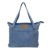 Light Weight Soft Denim Bag Tote Unisex Shopper Shoulder Handbag