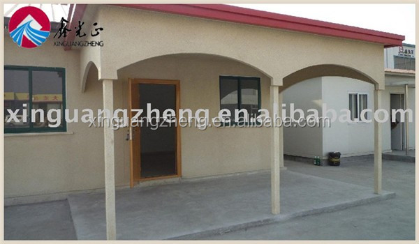 metal colour cladding portable frame house