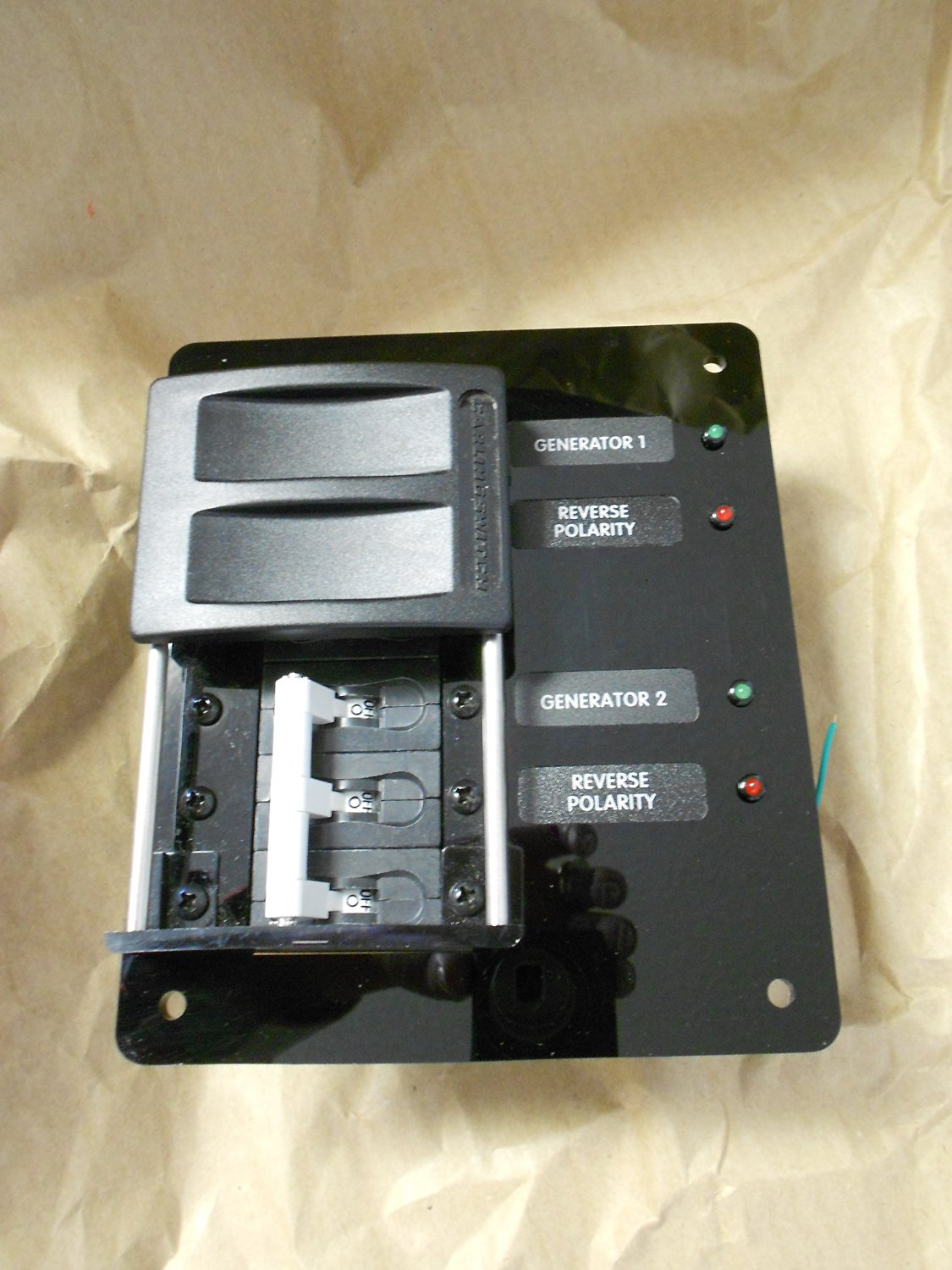 Blue Sea C-series Circuit Breaker Selection Switch 80 Amp