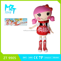 2016 New !Eco-friendly PVC LALA Button Magic Little Girl series models barbie doll (3 model mixed) ZT9905