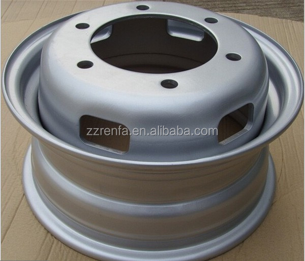 Renfa Machinery supply used truck alloy wheel rim and rim 22.5x7.5