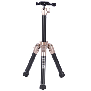 Small selfie stick aluminum table phone mini camera tripod