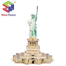 Amerika Statue of Liberty 3d Jigsaw Bildungs Super 3D Puzzle