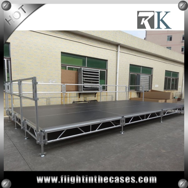 RK Portable Stage Ramp Aluminum Outdoor Stage portable outdoor event stage on sale