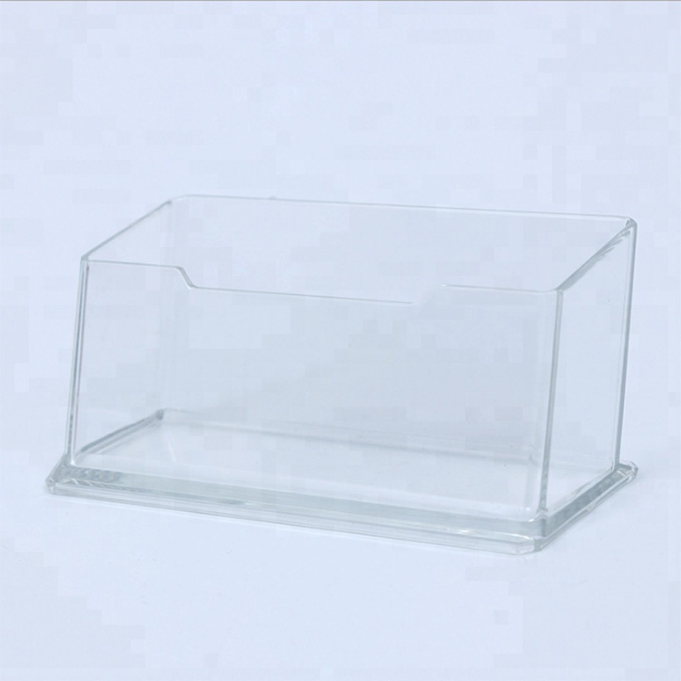 Wholesale cheap business card holder acrylic display <strong>stand</strong> ,clear acrylic business name card holder for desk