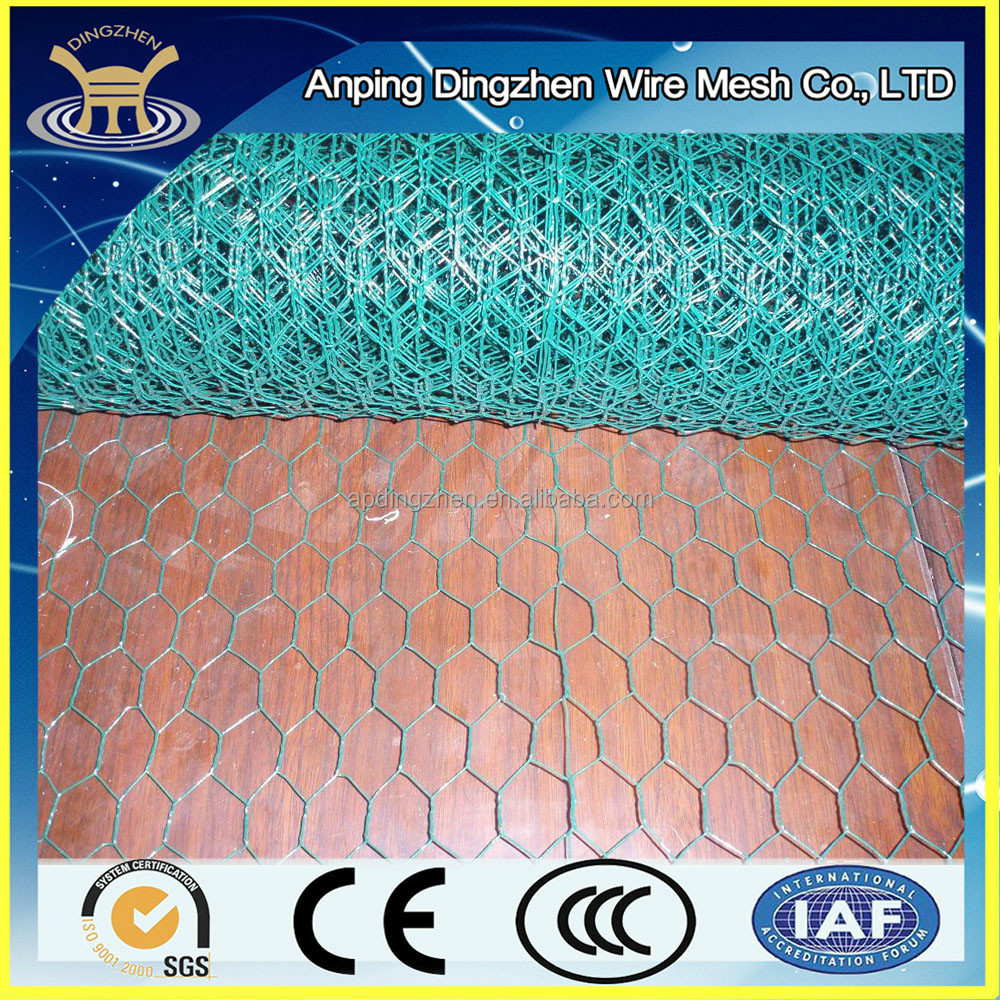 PVC coated galvanized Low carbon soft wire mesh strong long life mesh netting