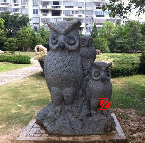 Garden Stone Owl Statue, Garden Stone Owl Statue Suppliers And  Manufacturers At Alibaba.com