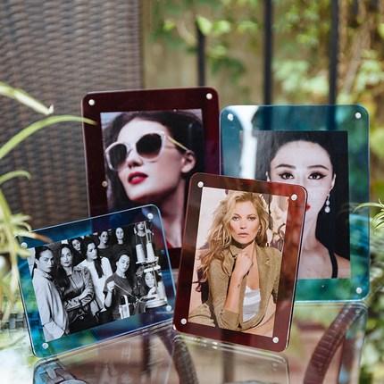 wholesale customized acrylic photo frame for home