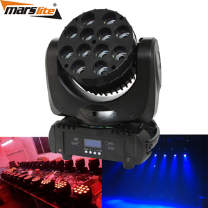 12 x10w rgbw 4in1 led moving head wash led moving head DMX stage disco dj lights wholesale