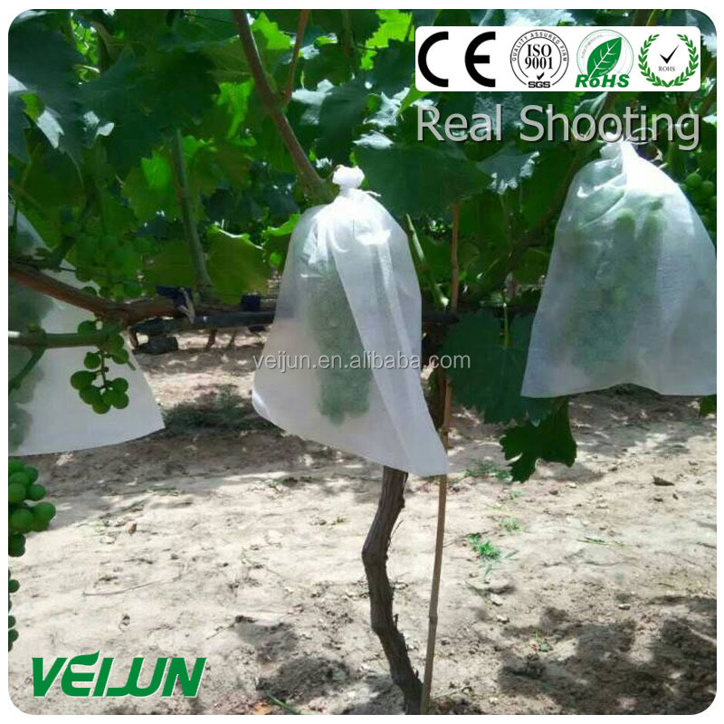 uv protection waterproof babana covering Fruit covering nonwoven white & black color PP spunbond