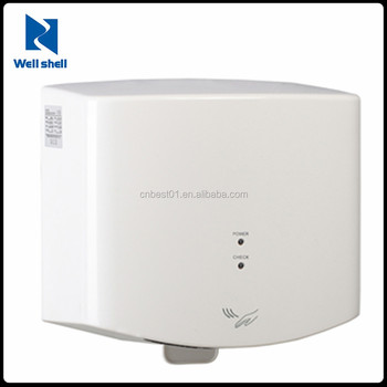 Bathroom Home Abs Hand Dryer Heavy Duty Commercial 1400w Hand Dryers