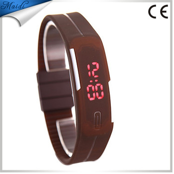 006e41dc99d9 Relojes Mujer 2017 Women Color Led Digital Wrist Watch Silicone Jelly  Waterproof Sports Bracelet Watch Factory
