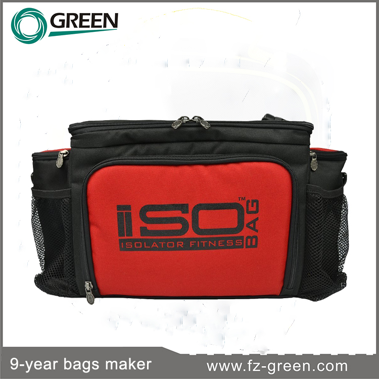 3 Meal Reverse Insulated lunch cooler bag zero degrees inner cool