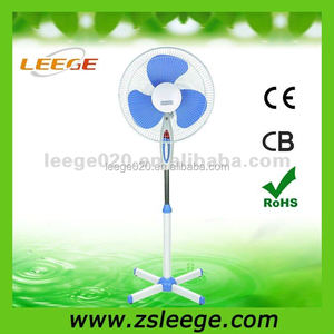 2018 FS40-22 best low noise eletric colorful pedestal fan